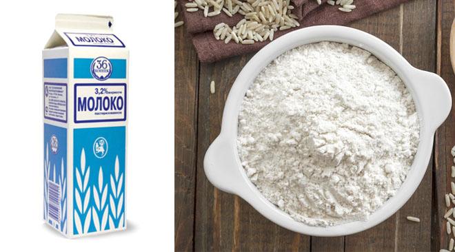 как накрахмалить салфетку рисовым крахмалом