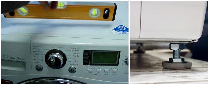 выравнивание-стиральной-машины-по-уровню